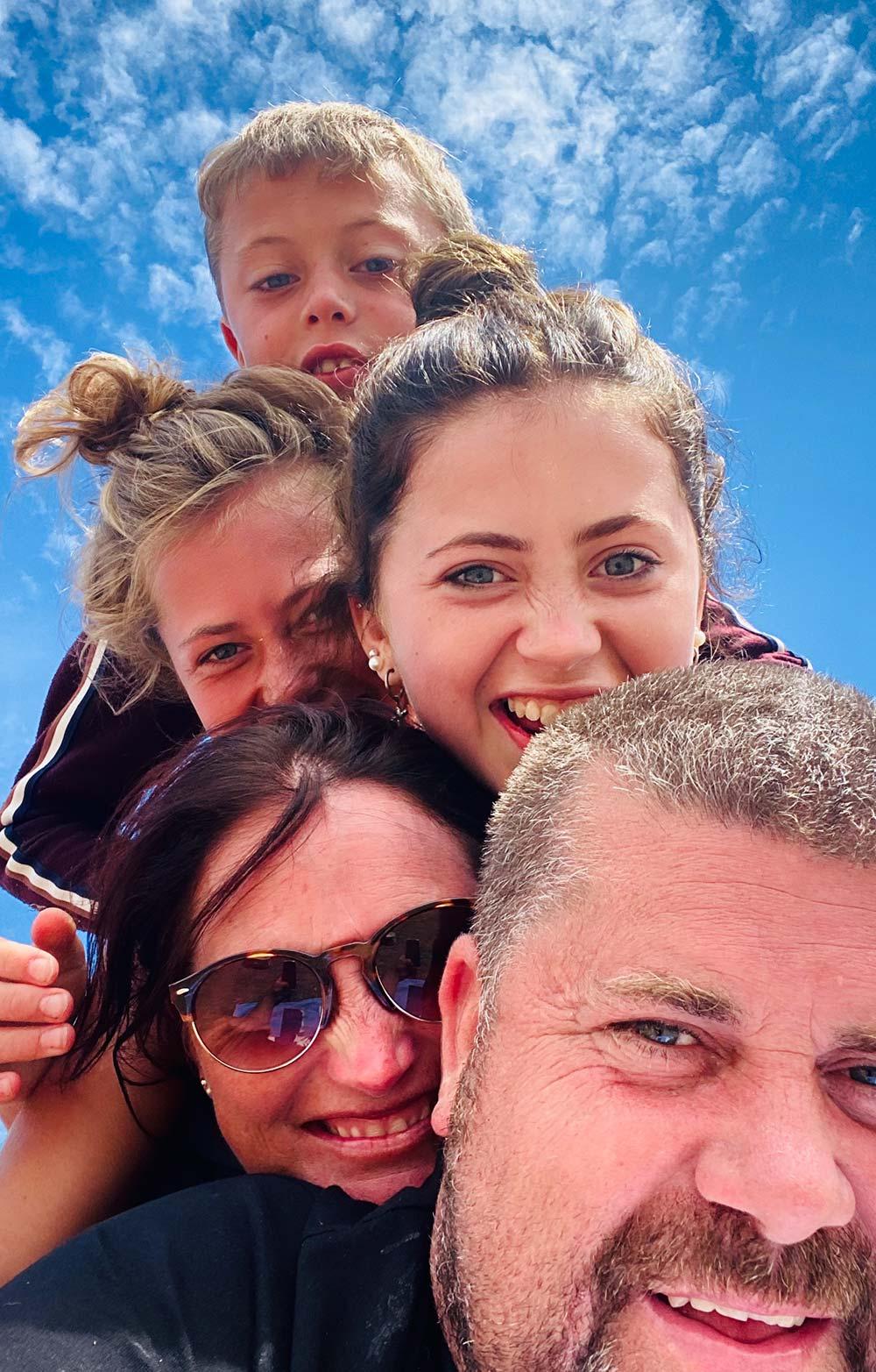 Ben Taylor-Davies and Family